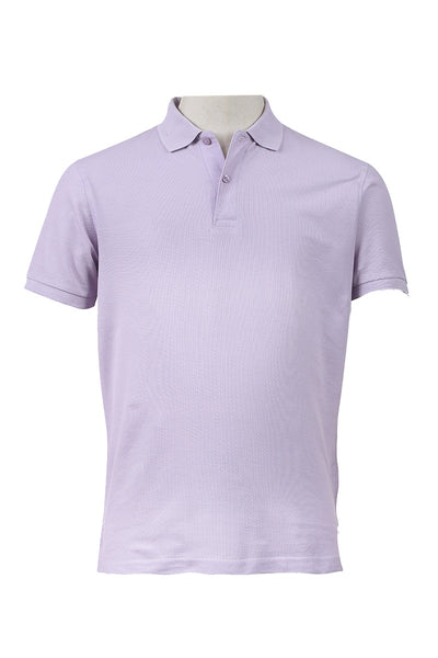 Orchid Double Tuck Pique Signature Polo Shirt - PKP-SIG-06