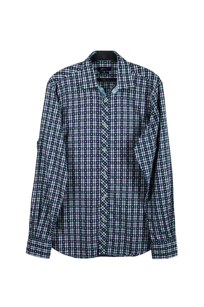 Grey Checked GA Sport Casual Shirt CM-YD-1733
