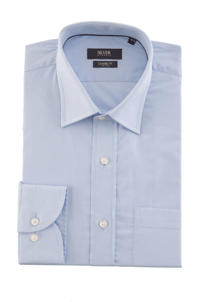 Sky Blue Formal Shirt CM-PD-352