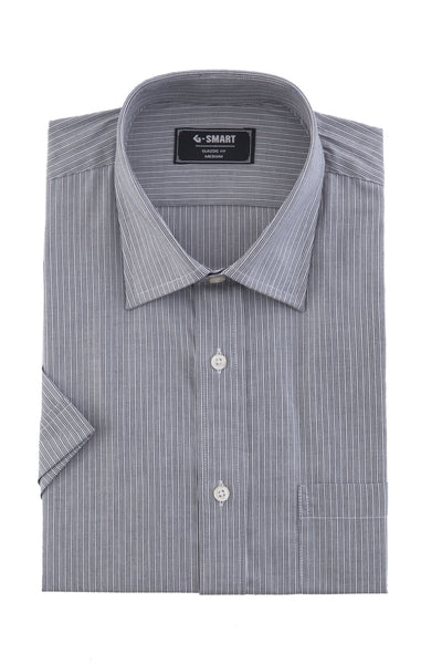 Grey Formal Half Sleeves Shirt CM-YD-1780