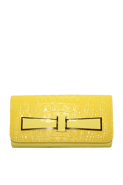 Yellow Casual Clutch 15309
