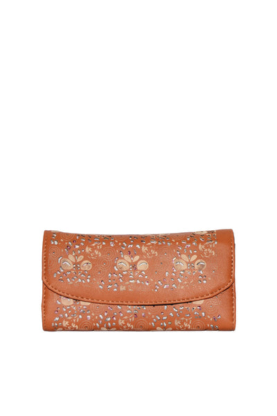 Brown Casual Clutch 288