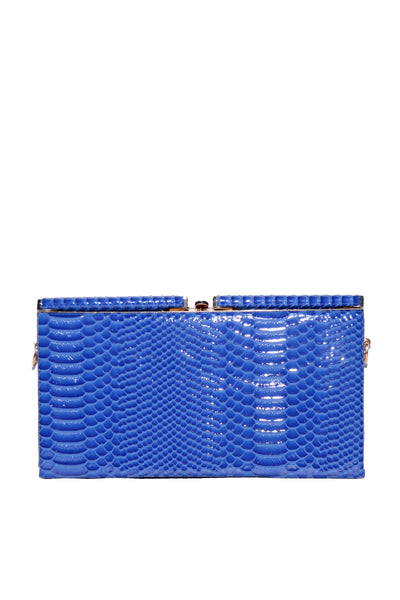 Blue Casual Clutch 8025-2