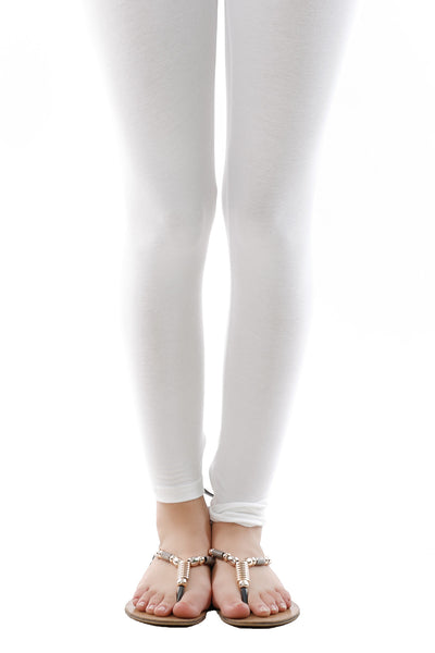 White Jersey Tights TR-16-015
