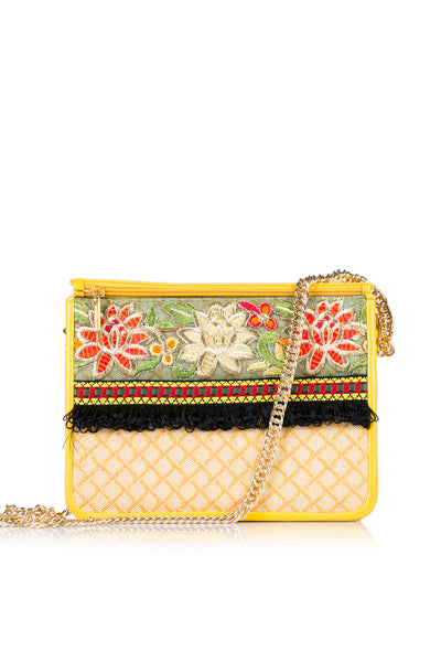 Yellow Hand Bag DSB-378