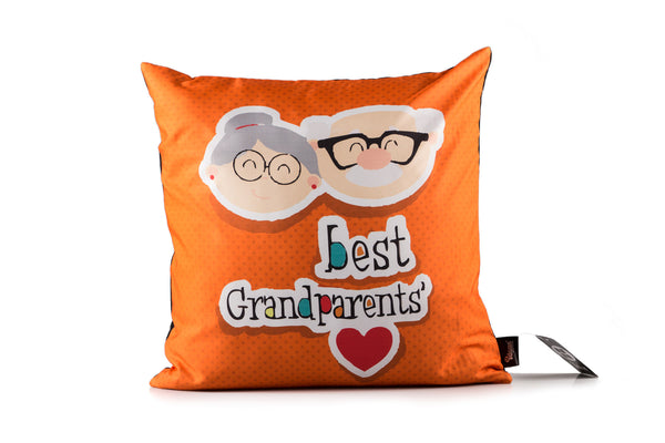 Best Grand Parents Digital Cushion Cover