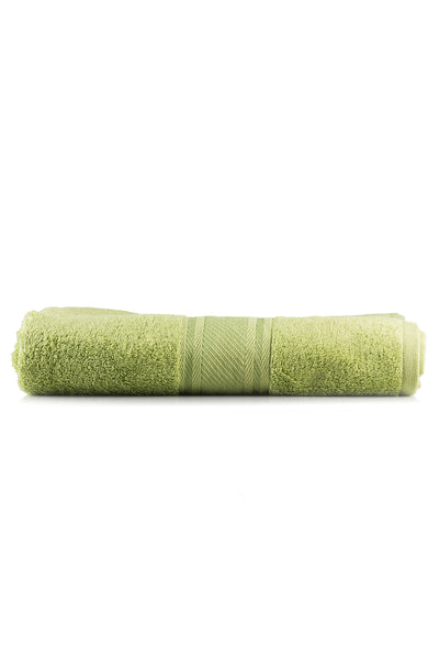 Green Combed Dyed Towel W-16