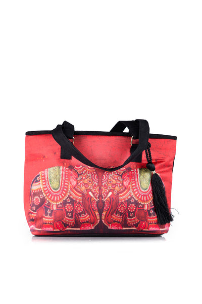 Red Hand Bag AWB16-18