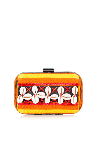 Yellow Casual Clutch AWB16-38