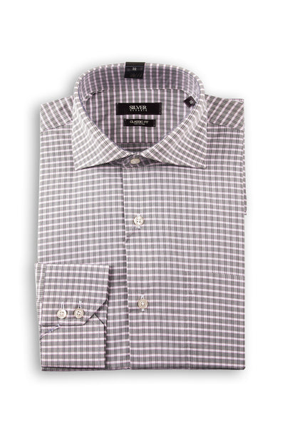 Grey Formal Shirt CM-YD-1846