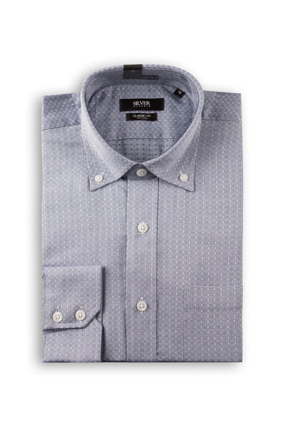 Grey Formal Shirt CM-YD-1864