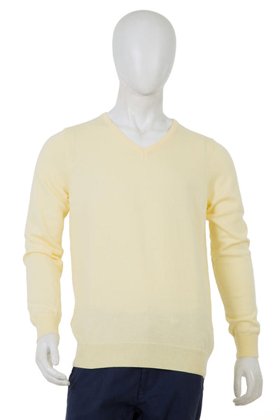 Cream Crew Neck Sweater FS-SWT-D15-1