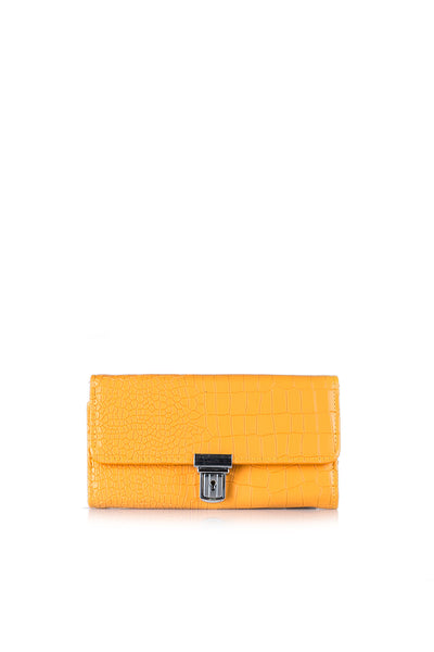 Mustard Casual Clutch 42387