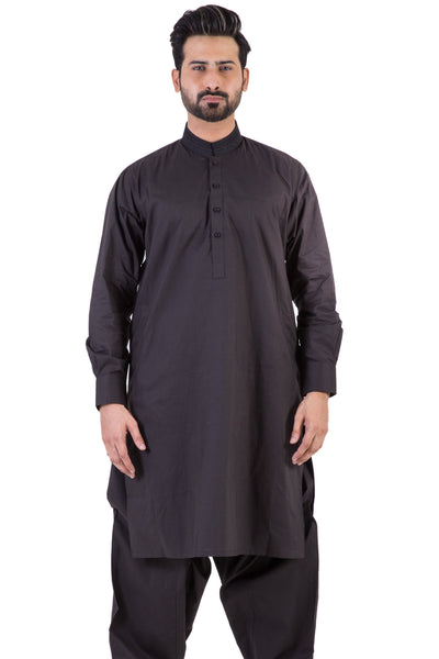 Black Embroidered Shalwar Kameez SKE-96