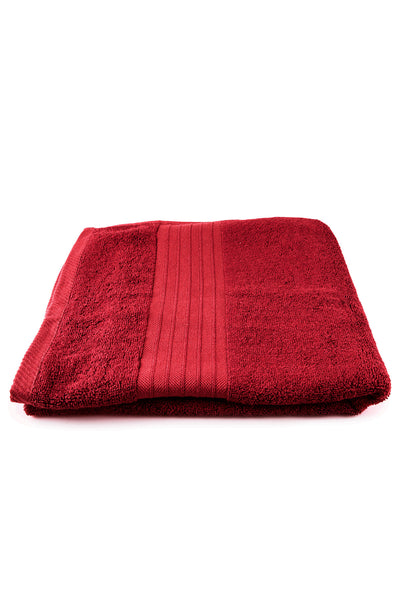 Red Bamboo Towel 600 GSM