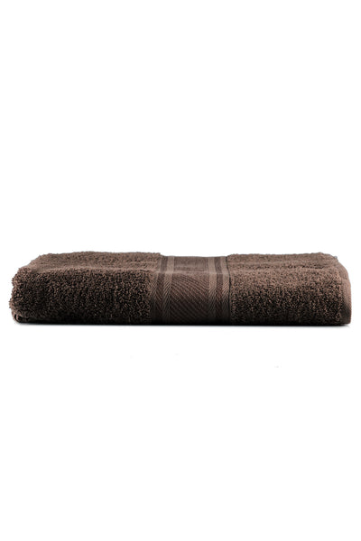 Chocolate Combed Dyed Towel