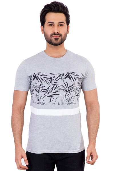 Grey Urban Graphic T-Shirt JGP-URB-D28