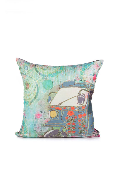 Rikshaw Digital Cushion Cover