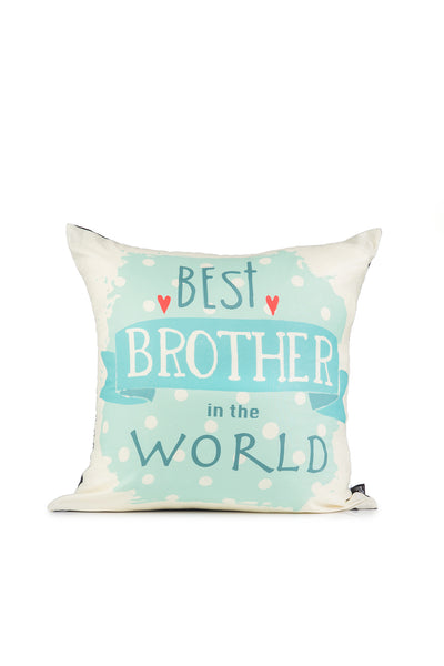 Best Brother Digital Cushion Cover Brother's Day