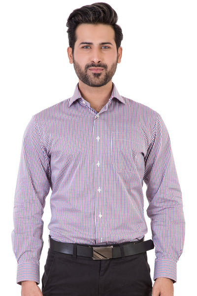 Red Formal Classic Shirt CM-YD-1898
