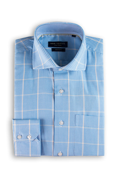 Blue Formal Shirt CVC-YD-392