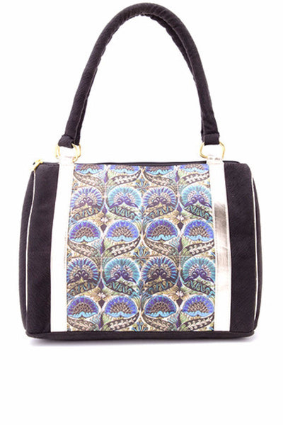 Duffle Bag With Silk Digital Print - DSB-191