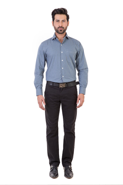 Blue Formal Shirt CVC-YD-398