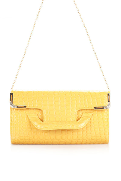 Yellow Clutch - 13601