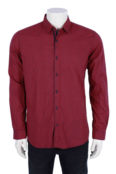 Red Casual Shirt CM-YD-2004