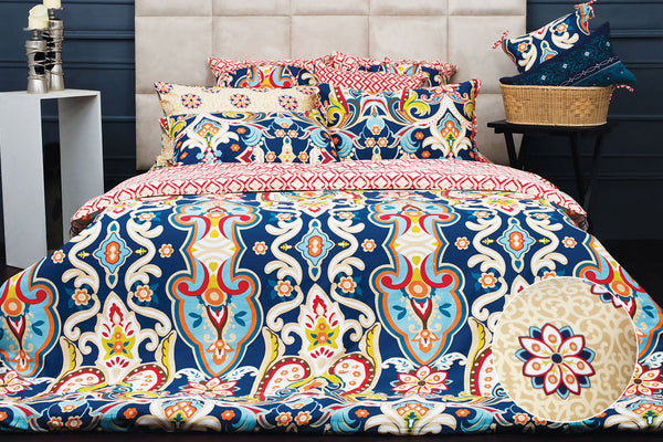 Blue Haze T-200 Quilt Cover Set