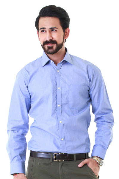 Blue Formal Shirt - IT-YD-178