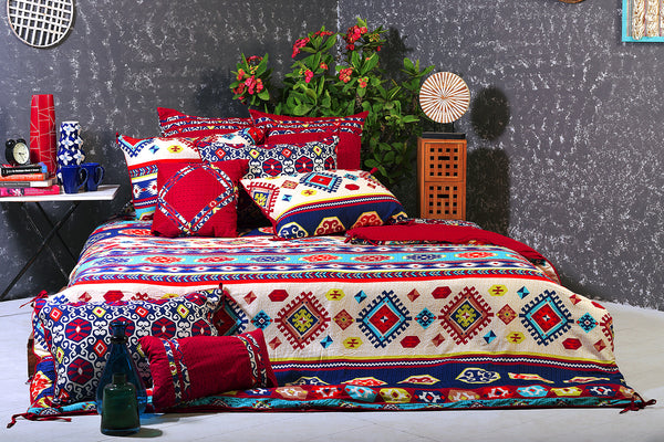Aztec Tribe T-200 Quilt Cover Set