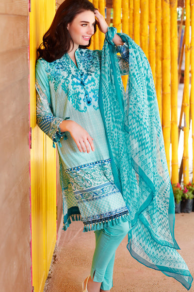 Sea Green La Chiffon C-343