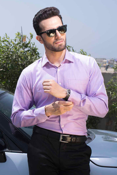 Mauve Formal Shirt CM-PD-353