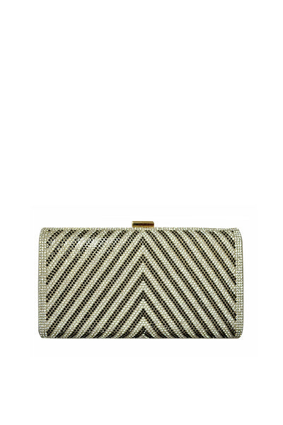 Grey Fancy Clutch 28613-2