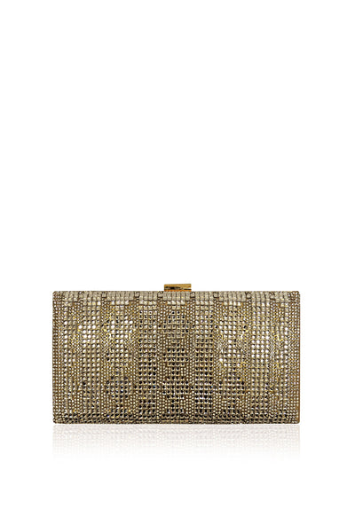 Silver Fancy Clutch 28613-1