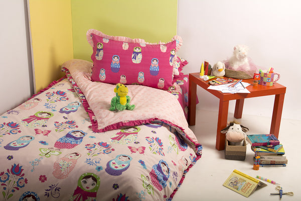 Doll T-150 Kids Quilt Cover Set