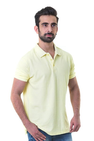 Green Double Tuck Pique Polo Signature - PKP-268