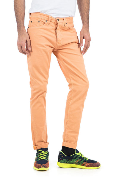 Peach Colored Denim - JCF-18