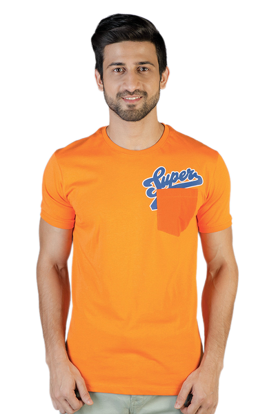 Orange Graphic T-Shirt - JGP-D108-2