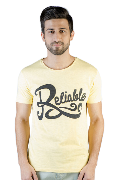 Yellow Graphic T-Shirt - JGP-D130-2