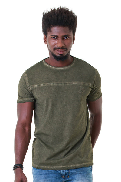 Olive Graphic Tee - JGP-D149-2