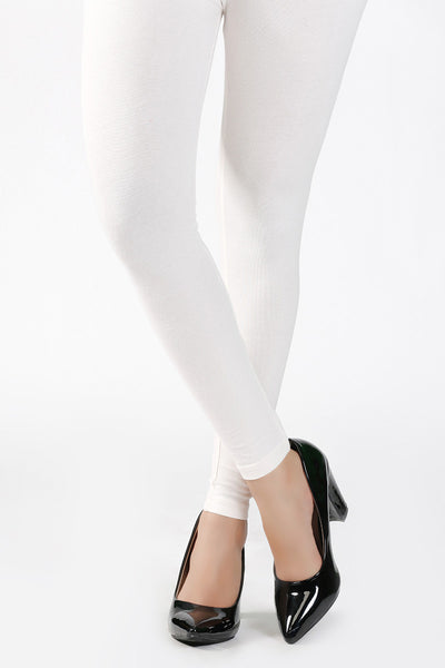 Off White Jersey Tights - TR-15-075
