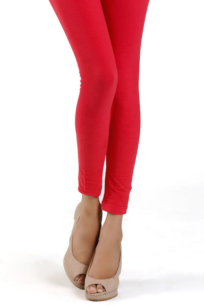 Red Jersey Tights - TR-15-54