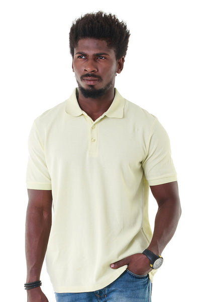 Green Double Tuck Pique Polo Signature - PKP-256