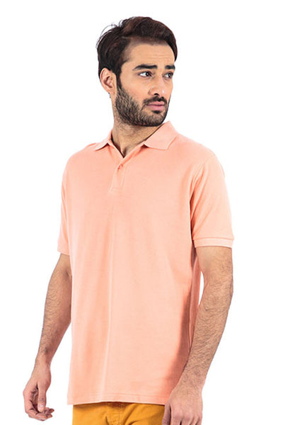 Cerise Double Tuck Pique Polo Signature - PKP-243