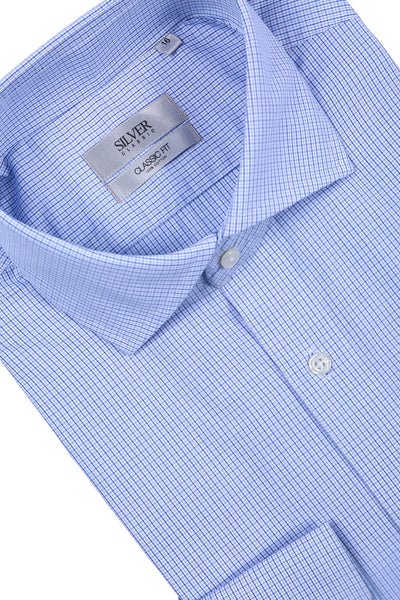 Sky Blue Formal Shirt CM-YD-1916
