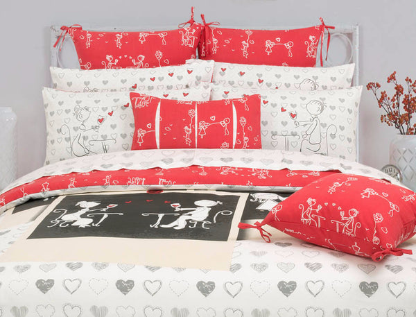 Red Crush T-150 Cushion Cover