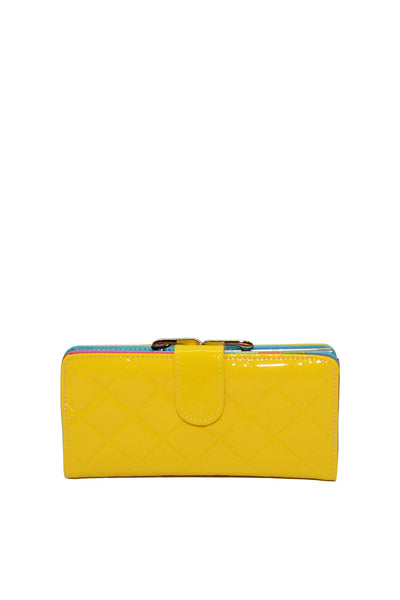Yellow Casual Clutch 292