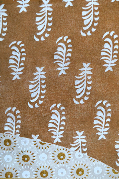 Brown Printed Lawn SL-245 B